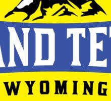GRAND TETON NATIONAL PARK WYOMING MOUNTAINS 3 Sticker