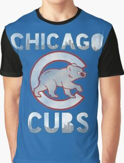 Chicago Cubs Skyline Graphic T-Shirt