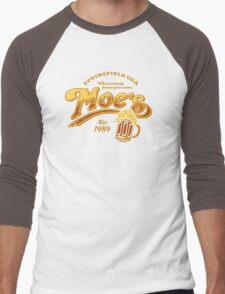 Moe's Tavern Men's Baseball ¾ T-Shirt