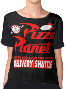 Pizza Planet Chiffon Top
