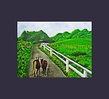Just a Couple of Asses...Down On Oko's Farm Unisex T-Shirt