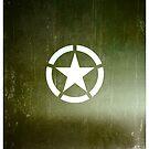 Vintage Allied Star - Army Green by txjeepguy2