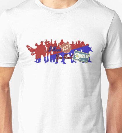 RED vs BLU Unisex T-Shirt