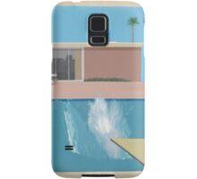 David Hockey - A Bigger Splash Samsung Galaxy Case/Skin