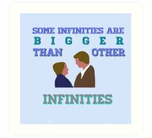 The Fault in Our Stars - Infinities Art Print
