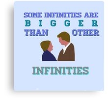The Fault in Our Stars - Infinities Canvas Print