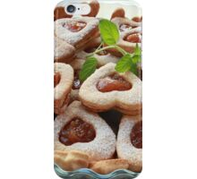 cookies hearts with sweet filling iPhone Case/Skin