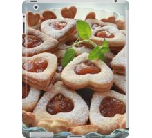 cookies hearts with sweet filling iPad Case/Skin