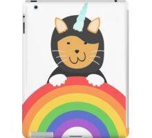 Undercover Unicorn Cat iPad Case/Skin