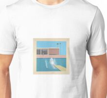 David Hockey - A Bigger Splash Unisex T-Shirt