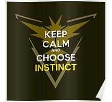 Choose Instinct Poster