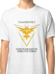 Team Instinct Design - Pokemon GO Classic T-Shirt