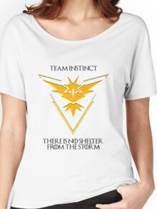 Team Instinct Design - Pokemon GO Women's Relaxed Fit T-Shirt