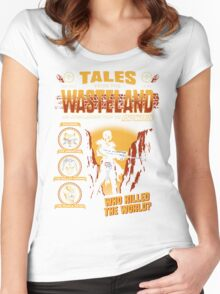 Tales From The Waste Women's Fitted Scoop T-Shirt