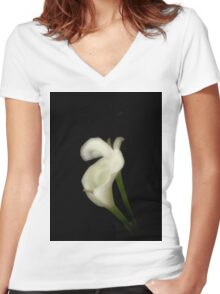 Soft Women's Fitted V-Neck T-Shirt