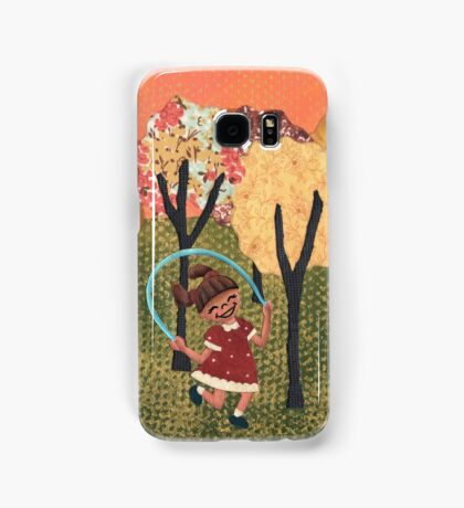 Jumping Rope Samsung Galaxy Case/Skin