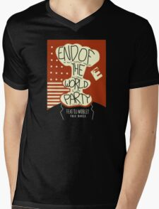 End of the World Party Mens V-Neck T-Shirt