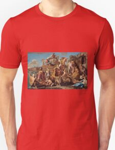 Pompeo Girolamo Batoni - The Triumph Of Venice 1737. People portrait: party, woman and man, Venice, family, female and male, peasants, crowd, romance, women and men, city, home society Unisex T-Shirt
