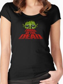 Thrill Of The Dead Women's Fitted Scoop T-Shirt