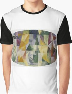 Robert Delaunay - Windows Open Simultaneously . Abstract painting: abstraction, geometric, expressionism, composition, lines, forms, creative fusion, music, kaleidoscope, illusion, fantasy future Graphic T-Shirt