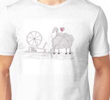 Tangled Spinner in the Flock Unisex T-Shirt