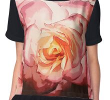 The Painted Rose Chiffon Top