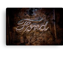 Ford Tailgate Canvas Print