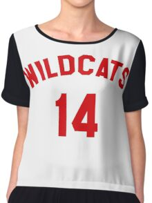 High School Musical: Wildcats Red Chiffon Top