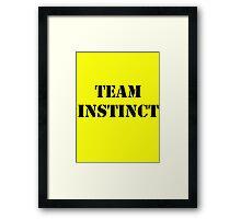 Pokemon Go -Team Instinct - Yellow Framed Print