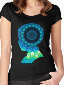 Cloud Kaleidiscope Women's Fitted Scoop T-Shirt