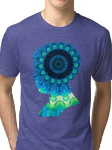 Cloud Kaleidiscope Tri-blend T-Shirt