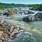Great Falls Park, VA  by Bine
