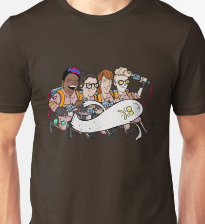 Ghostbusters: Atlantic Magazine Cover Unisex T-Shirt