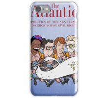 Ghostbusters: Atlantic Magazine Cover iPhone Case/Skin