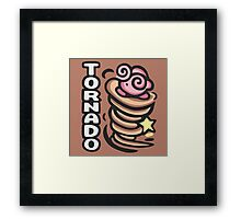 Kirby Tornado Framed Print