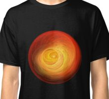 World On Fire - Black Background Classic T-Shirt