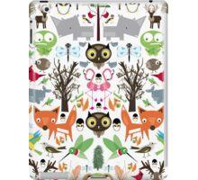 Mixed animal fun iPad Case/Skin