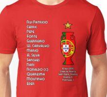 Portugal Euro 2016 Champions Final Squad Unisex T-Shirt