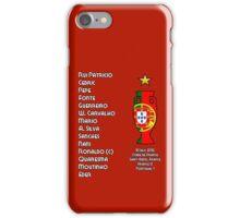 Portugal Euro 2016 Champions Final Squad iPhone Case/Skin