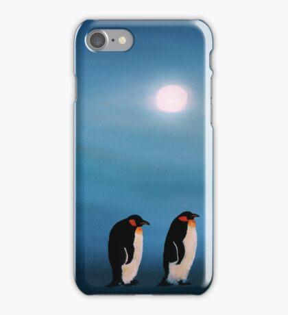 Pick-up-a-Penguin! iPhone Case/Skin