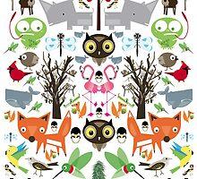 Mixed animal fun by Lee  Thomas