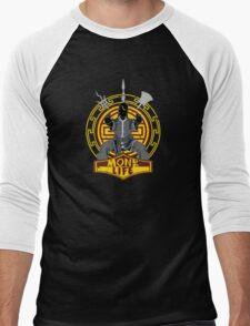 D&D Tee - Monk Life Men's Baseball ¾ T-Shirt