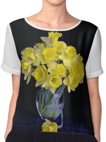 Spring Has Sprung...So I Brought It Indoors! Chiffon Top