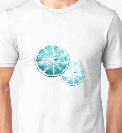 Turquoise citrus Unisex T-Shirt