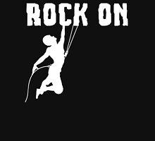 Rock On Rock Mountain Climbing T Shirt Classic T-Shirt