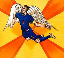 Robin Van Persie: The Flying Dutchman by Adam Campbell