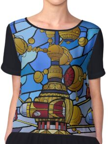 Orbitron: Les Machines Volantes Women's Chiffon Top
