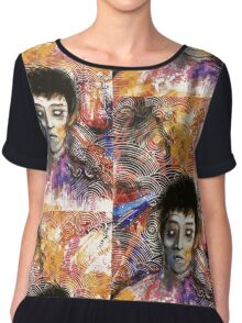"""Illustration from """"The Lonely Boat."""" Chiffon Top"""