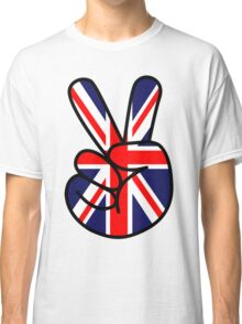 Peace British Style Classic T-Shirt