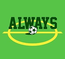 Always Soccer t-shirt for soccer fans by tshirtbaba
